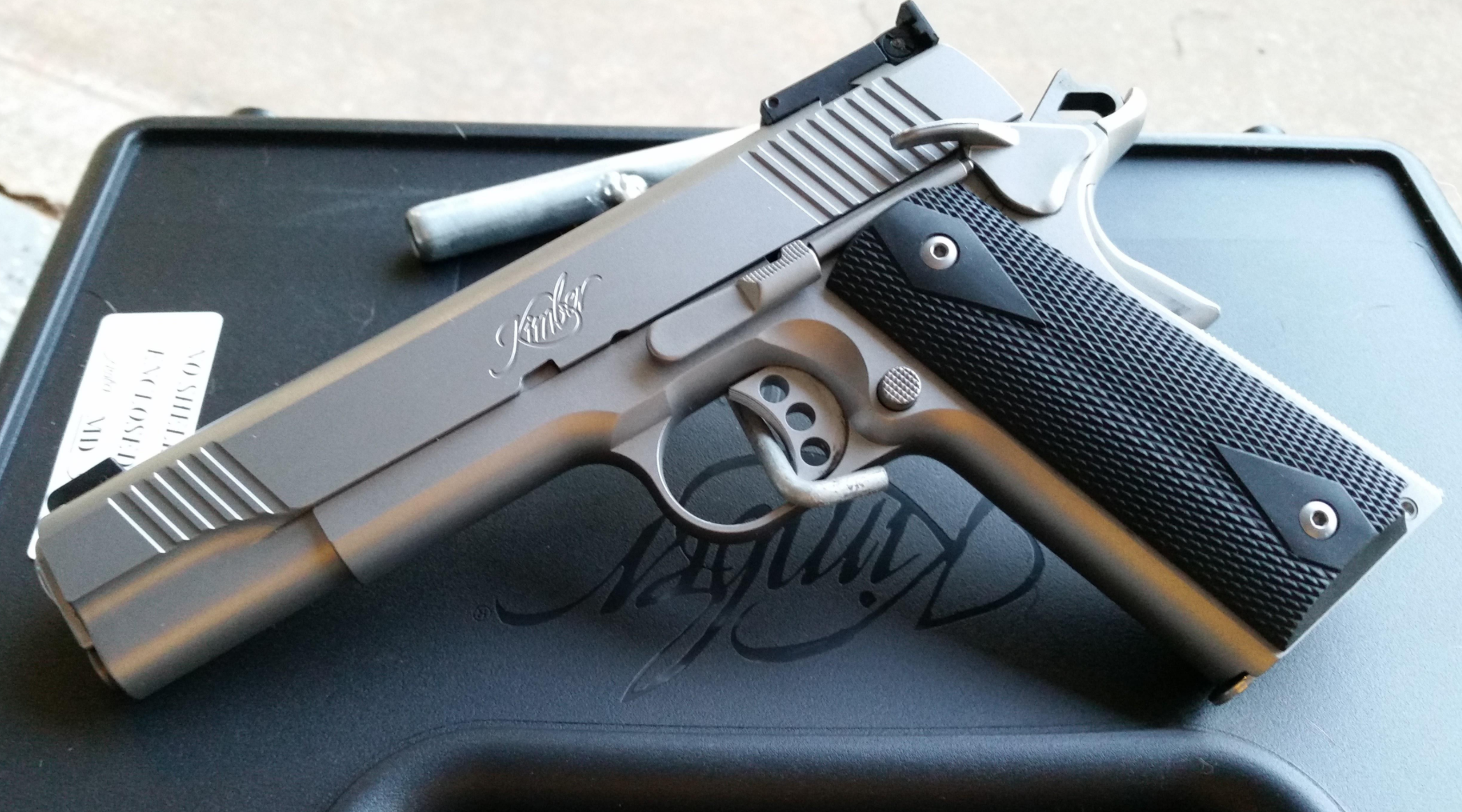 Gun Of The Month:  Kimber Stainless Target II