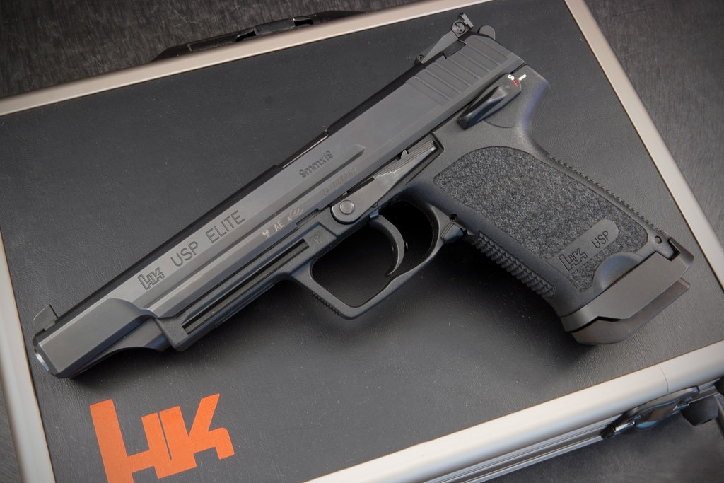 GUN OF THE MONTH: HK USP ELITE